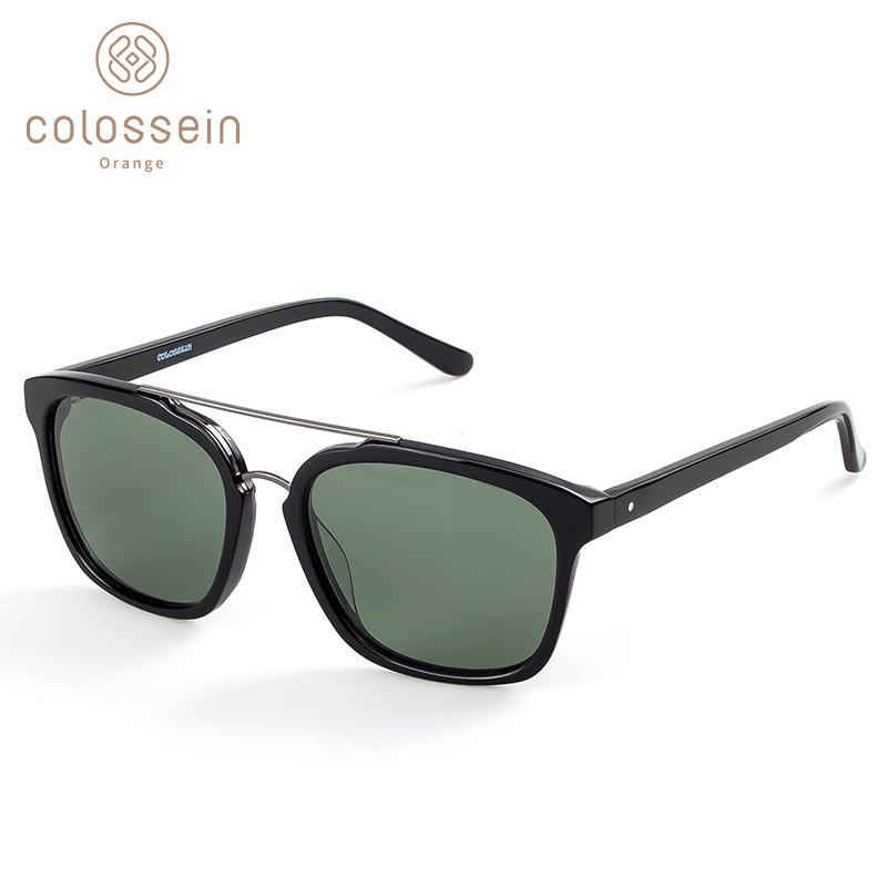 COLOSSEIN Fashion Sunglasses Women Classic Square Frame Polarized Fishing Lens Holiday Eyewear Glasses Popular Style UV400