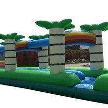 Взрослый размер надувной гигантский слайд большой оборудование для парков развлечений для продажи