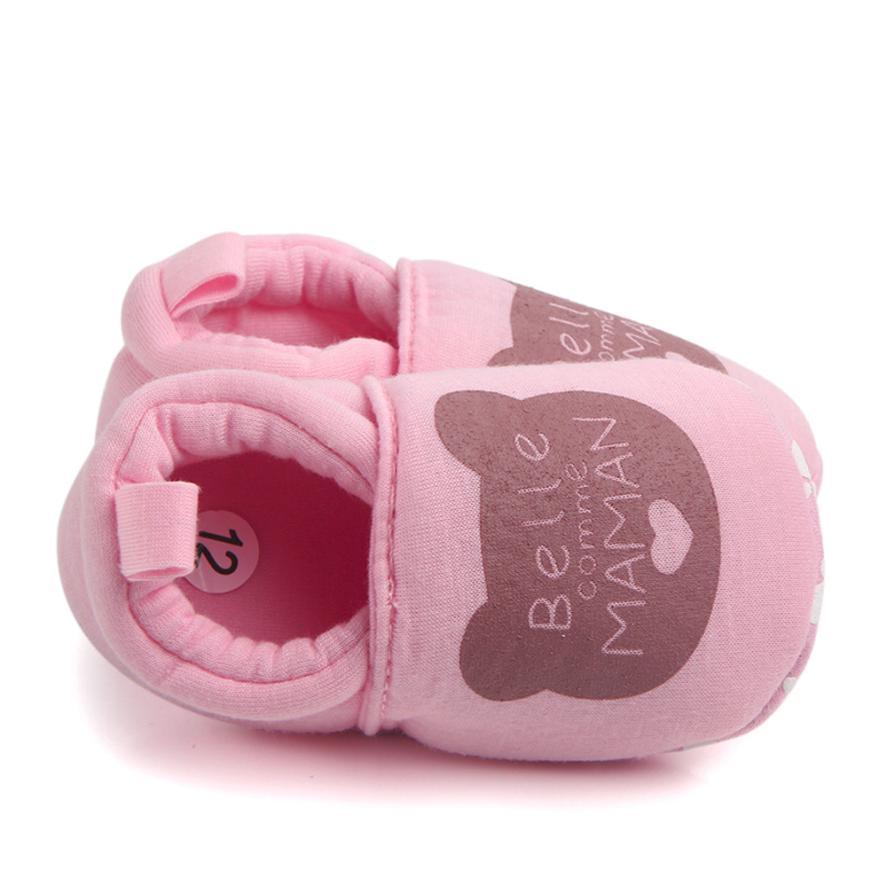 Mooie Cartoon Pasgeboren Baby Meisjes Prinses Winter Warm - Baby schoentjes - Foto 4