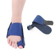 Separador de dedos de los pies Hallux Valgus juanete Corrector ortopédicos pies hueso pulgar ajustador de corrección calcetín de pedicura pie enderezador de atención