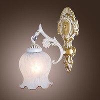 Kinkiety ścienne, Euro Styl Klasyczny W Stylu Vintage Ściana Światło Lampy LED Oświetlenie Domu Arandela Lampora De Pared