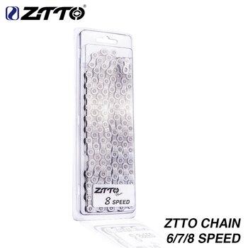 ZTTO 6 7 8 vitesses chaîne vtt VTT pièces de vélo de route de haute qualité Durable chaînes pour pièces système K7