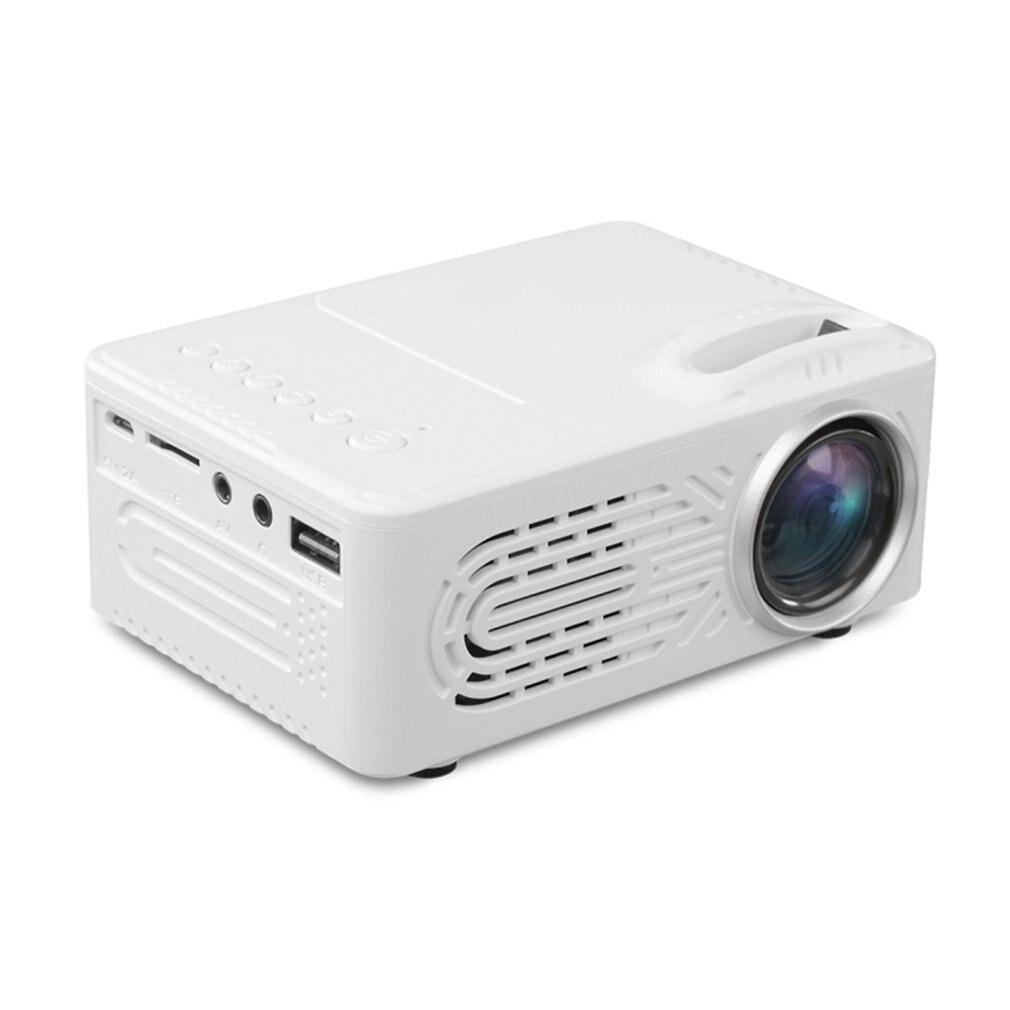 814 1080 P Full HD lecteur multimédia LCD projecteur Home cinéma dispositif de cinéma numérique projecteur AU Socket livraison directe à chaud