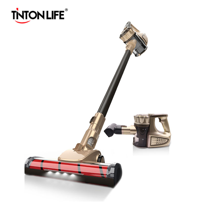 TINTON LIFE VC812 Protable 2 In 1 Handheld Wireless font b Vacuum b font Cleaner Cyclone