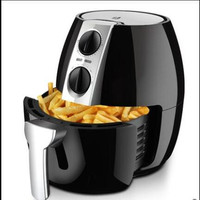 220V 4.5L Intelligent Electric Deep Fryer Oil Free Smokeless French Fries Machine Electric Air Fryer Non stick For Home Using