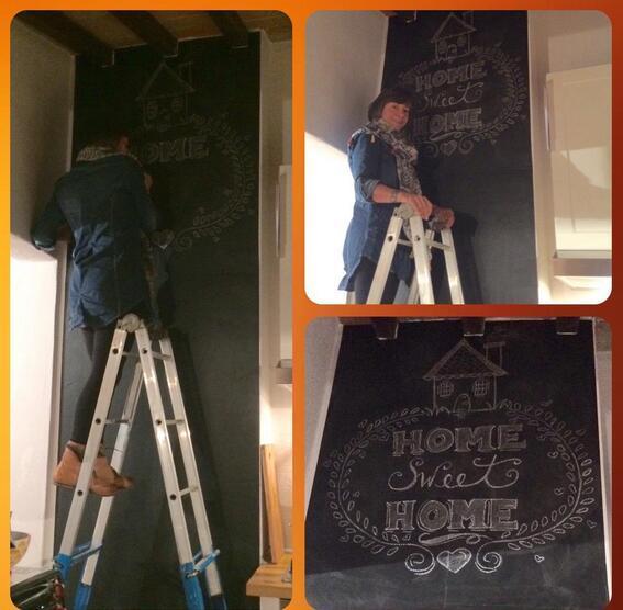 Chalk Board Blackboard 60x200cm 10