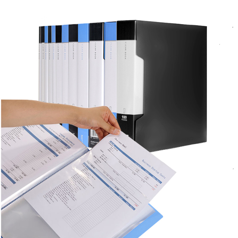 60 Pocket A4 Protector Presentation Book,120 Page Capacity,Available ...