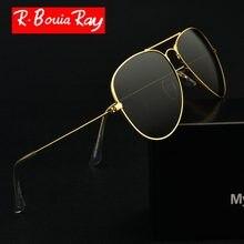 473ae351e8f36 Homens Polarizada Óculos De Sol Polaroid clássico Homem De Óculos de sol  Óculos Óculos de Sol Óculos de Condução Aviação UV400 A..