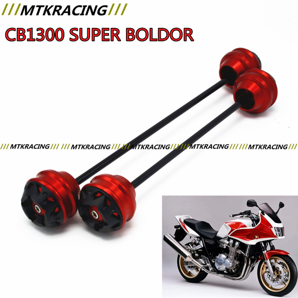 MTKRACING Free delivery for HONDA CB1300 SUPER BOLDOR 2003-2015 CNC Modified Motorcycle Rear wheel drop ball / shock absorber mtkracing free delivery for kawasaki z1000sx 2011 2015 cnc modified motorcycle front wheel drop ball shock absorber
