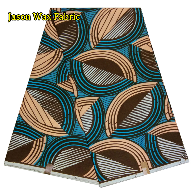 New style african super wax hollandais fabric for dress Good quality real wax 6 yards/lot for dress LBL