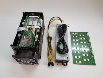 Used BTC miner Antminer S5 1150G 28NM BM1384 Bitcoin mining machine ASIC miner ( with psu )