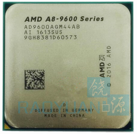 AMD A8 Series A8 9600 A8 9600 3.1 GHz 65W Quad Core CPU Processor AD9600AGM44AB Socket AM4-in CPU's van Computer & Kantoor op AliExpress - 11.11_Dubbel 11Vrijgezellendag 1