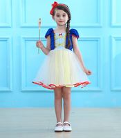 Kids Girls Baby Long Sleeves Dress Snow White Cute Dress & Cloak & Children Costume Dress Tops Pretty Christmas Dress Set