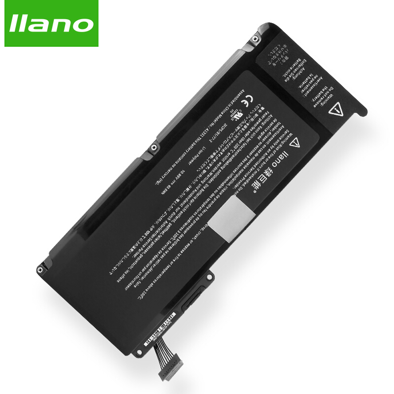 llano A1331 Laptop Battery for APPLE MacBook pro A1342 MC207 MC516 for MacBook Pro 13in laptop battery 5500mAh for macbook pro battery for apple macbook pro 17 a1189 a1212 a1261 a1151 ma092 ma458