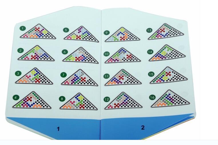 Klasične IQ perle Logic Mind Mozgalice Djeca Obrazovna igra Igračke - Igre i zagonetke - Foto 3