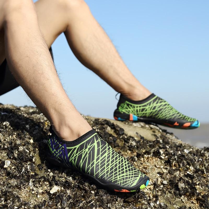 Nueva llegada unisex calcetines Descalzo los zapatos playa nadar Surf rojo Talla:43 fpP3iIa3l