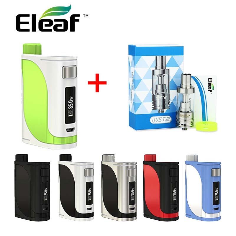 Original Eleaf iStick Pico 25 85 W TC MOD avec ijust 2 atomiseur réservoir 5 ml E Cigarette Vape réservoir utiliser EC bobine évaporateur 85 W istick