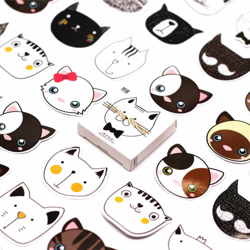 40 PCS Lovely Ice Cream Rabbit Sticker Animal Decals Stickers Gifts for Children to Laptop Suitcase Guitar Fridge Bicycle Car