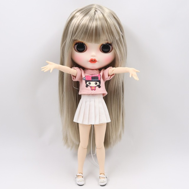 Caroline – Premium Custom Blythe Doll with Clothes Cute Face