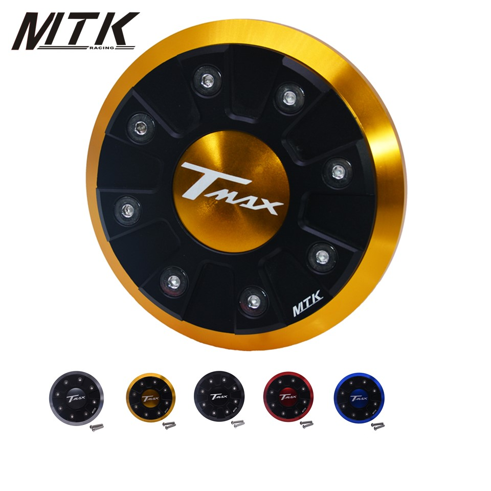 MTKRACING Motorcycle T-MAX CNC Engine Stator Cover Protector For YAMAHA T max 530 2012-2015 Tmax500 2008-2010