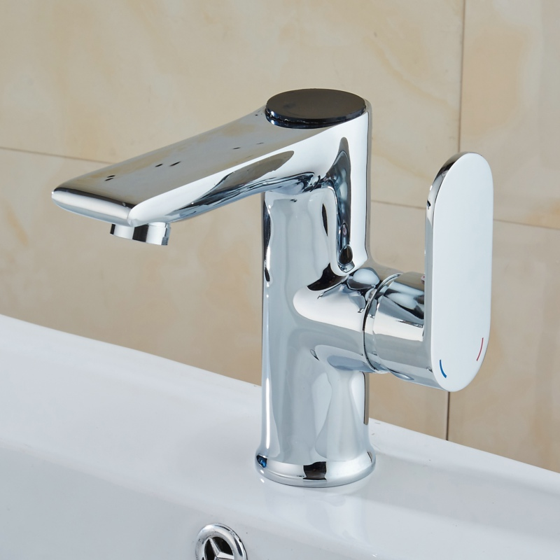 becola LED temperature and digital display faucet Solid brass chrome ...