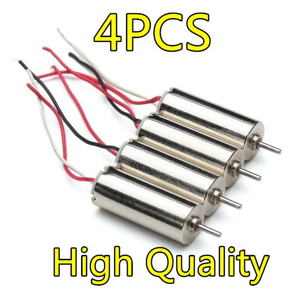 4pcs Hot Sell Eachine H8 Mini RC Quadcopter Spare Parts Motor 2pcs CW Motor and 2 pcs RW Motor original accessories mjx b3 bugs 3 rc quadcopter spare parts b3 024 2 4g controller transmitter