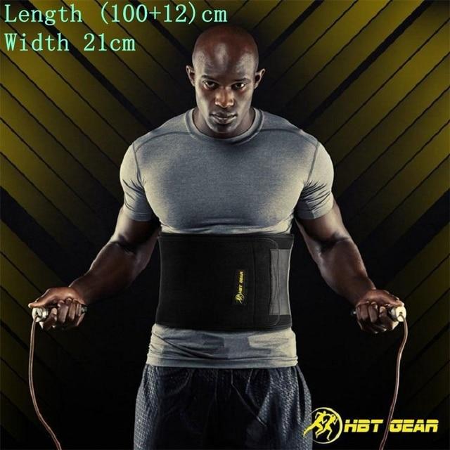 Shapers For Men Women Slimming Body Building Fitness Workout Shaper Waist Belly Trainer Belt Girdles Shapwear