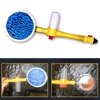 Automatic Car Foam Brush Wash Spray Foam Rotating Brush Portable Auto Clean Tools Wash Switch Water Flow