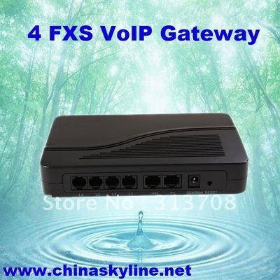 Discount VoIP phone fixed wireless with 4 FXS port