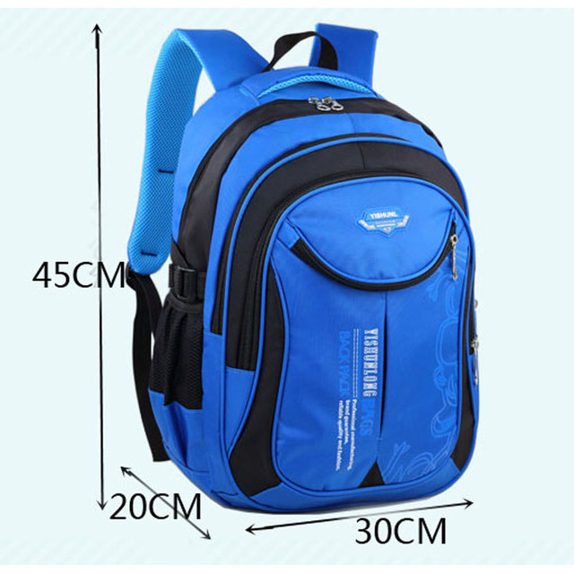 2018 hot new children school bags for teenagers boys girls big capacity school backpack waterproof satchel kids book bag mochila Kids & Baby Bags