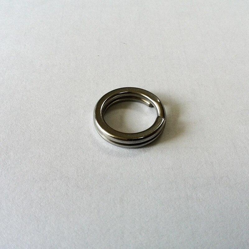 Nouveau 304 pur acier inoxydable anneau fendu 4400 pièces + 4D poisson leurre yeux 4200 pièces