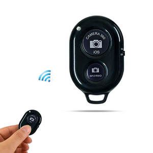 Shutter-Button Remote-Control Bluetooth-Phone Self-Timer Wireless iPhone for Stick Huawei