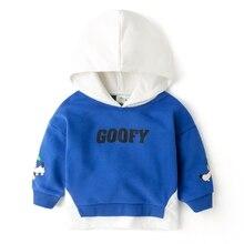 Disney Boys Hoodies Pullovers Tops Kids Sweaters Spring Fashion & Leisure DONALD MICKEY Cartoon 2017 autumn coat  Size 80-120