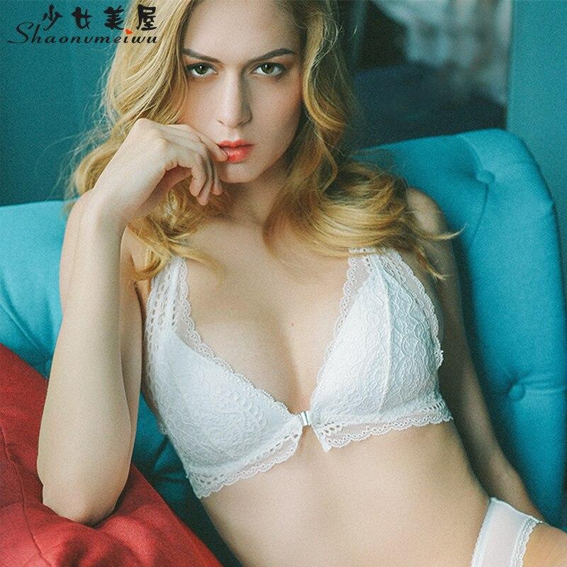 Shaonvmeiwu sexy spitze atmungs bh unterwäsche schnallen vor dem schlafen ohne felgen unterwäschebüsten