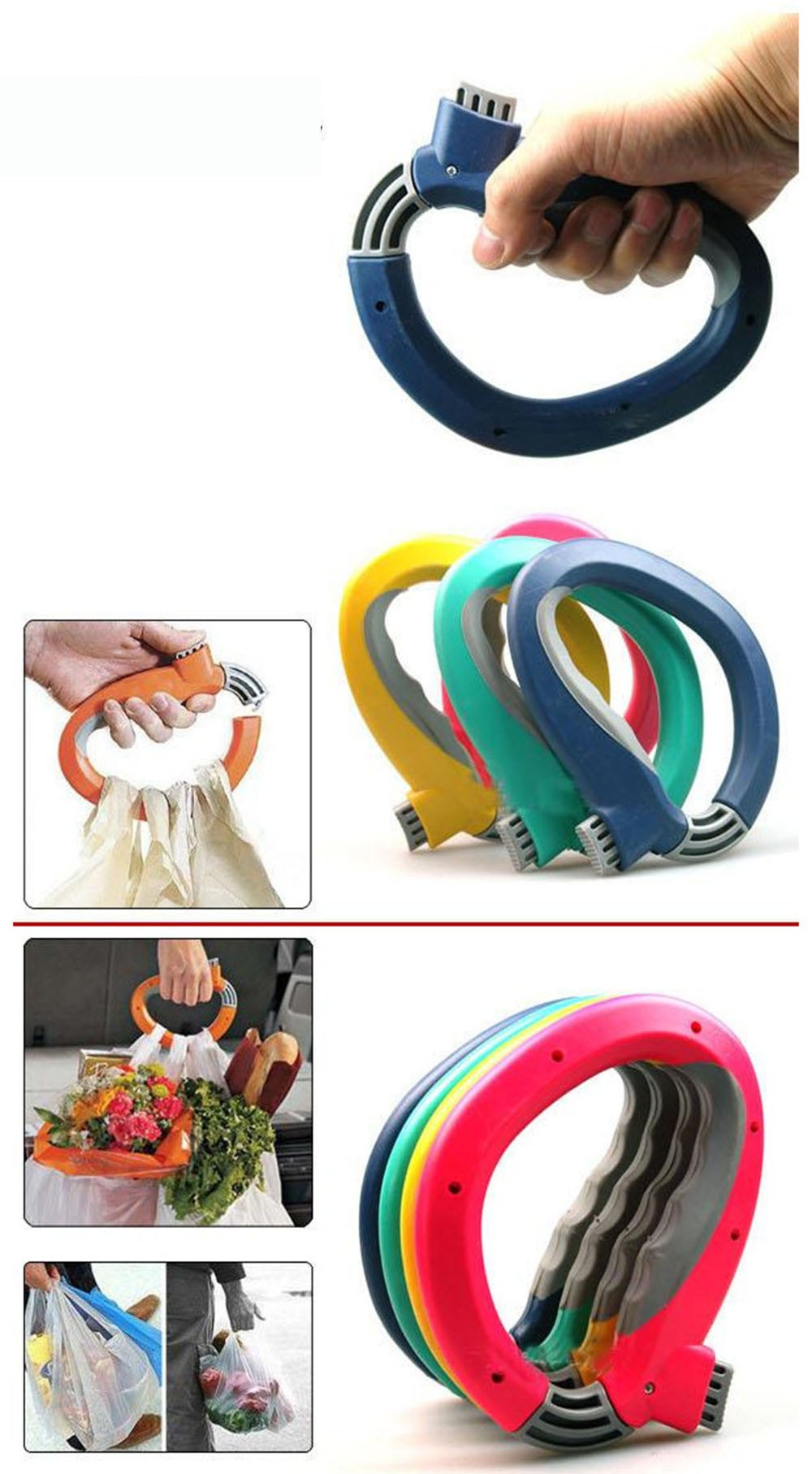 Bag-Grips-One-Trip-Grip-Shopping-Grocery-Bag-Kitchen-Tool-Gift-Baskets-Holder-Handle-Carrier-Lock-Labor-Saving-Tool-KC1120 (1)