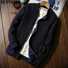 LEFT ROM men the spring autumn fashion high-grade pure color stand collar business leisure travelers Jacket coat/men slim jacket