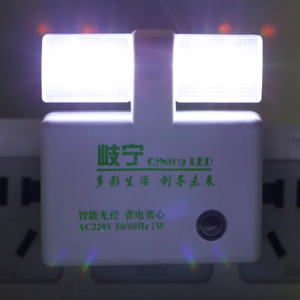 Automatic led energy saving night lamp - 2016 Hot Nightlight Energy Saving Light Control Night Light Led Sensor Lights Automatic Romantic Wall Led