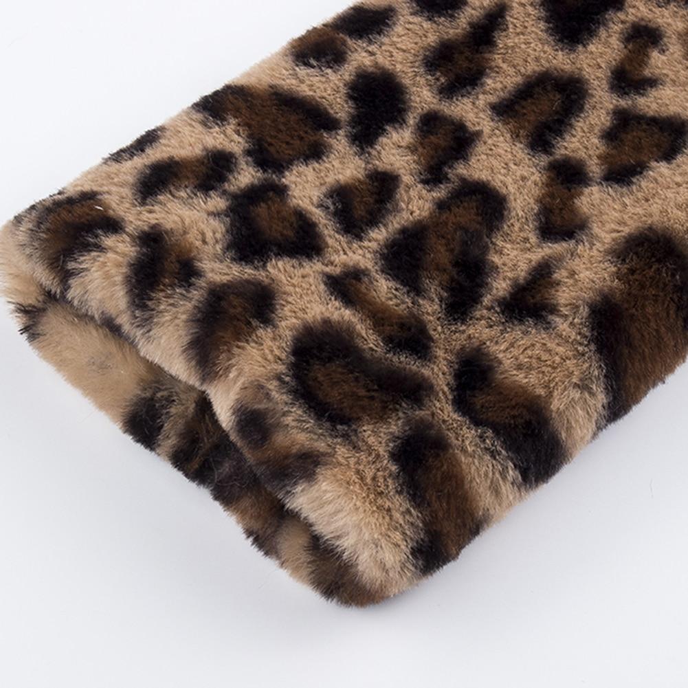 HTB1.C5yafvsK1RjSspdq6AZepXaE Leopard Coats 2019 New Women Faux Fur Coat Luxury Winter Warm Plush Jacket Fashion artificial fur Women's outwear High Quality