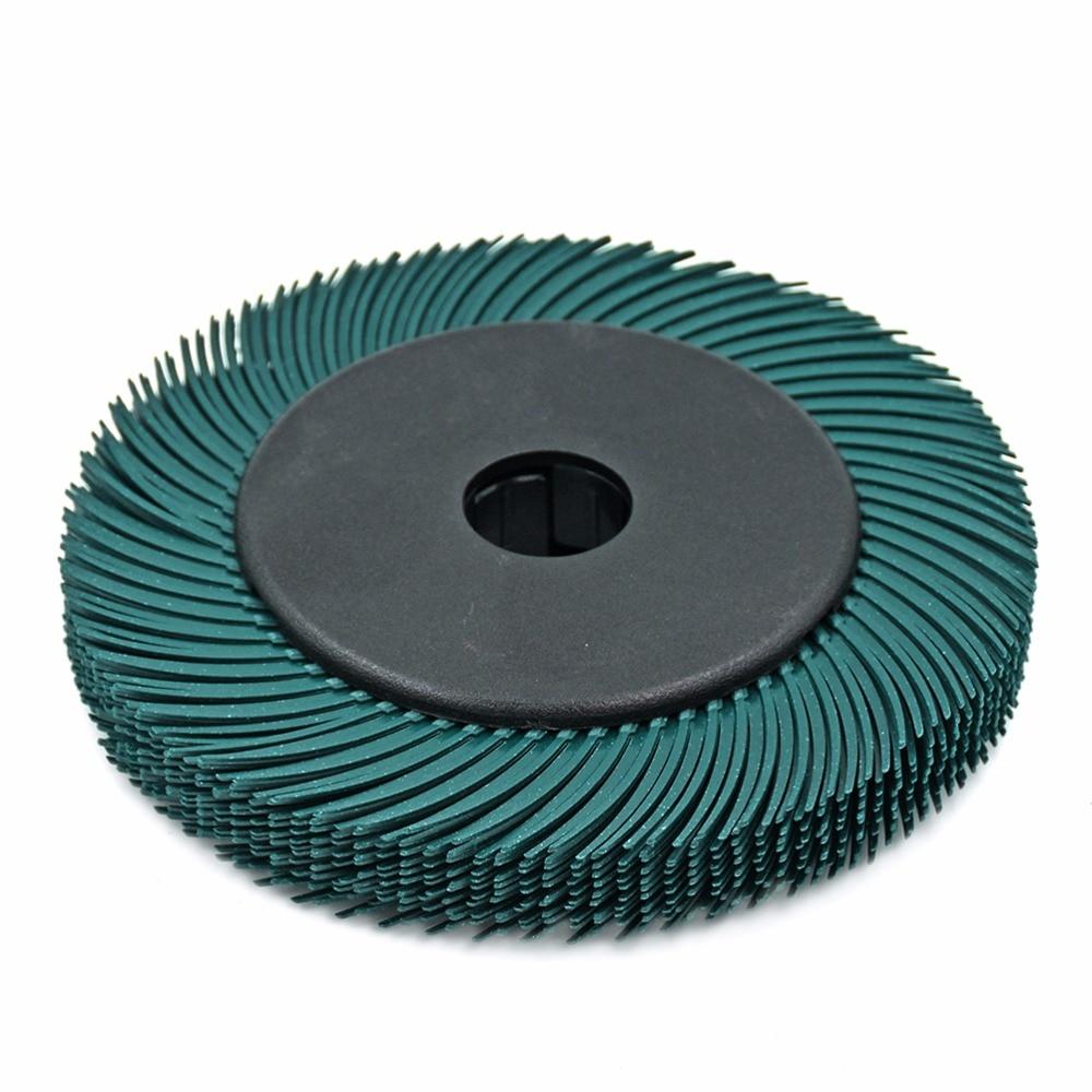 10tk Abrasiivtööriistad - radiaatorharjastega harja 6