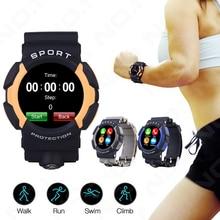 1pc women men watches clocks gift Sport Smart Watch Bluetooth G-sensor Heart Phone Waterproof for iOS Smart Rate H1