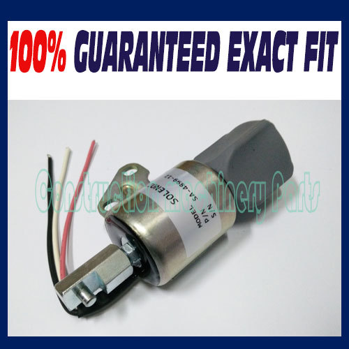 For Kubota D722 Z482 D902 Super Mini Engine fuel shutdown solenoid SA-4899-12, 1756ES-12SULB1S5 fuel shutdown solenoid valve 1756es 12e3ulb1s5 sa 4735 sa 4735 12 12v for volvo hyundai mitsubishi
