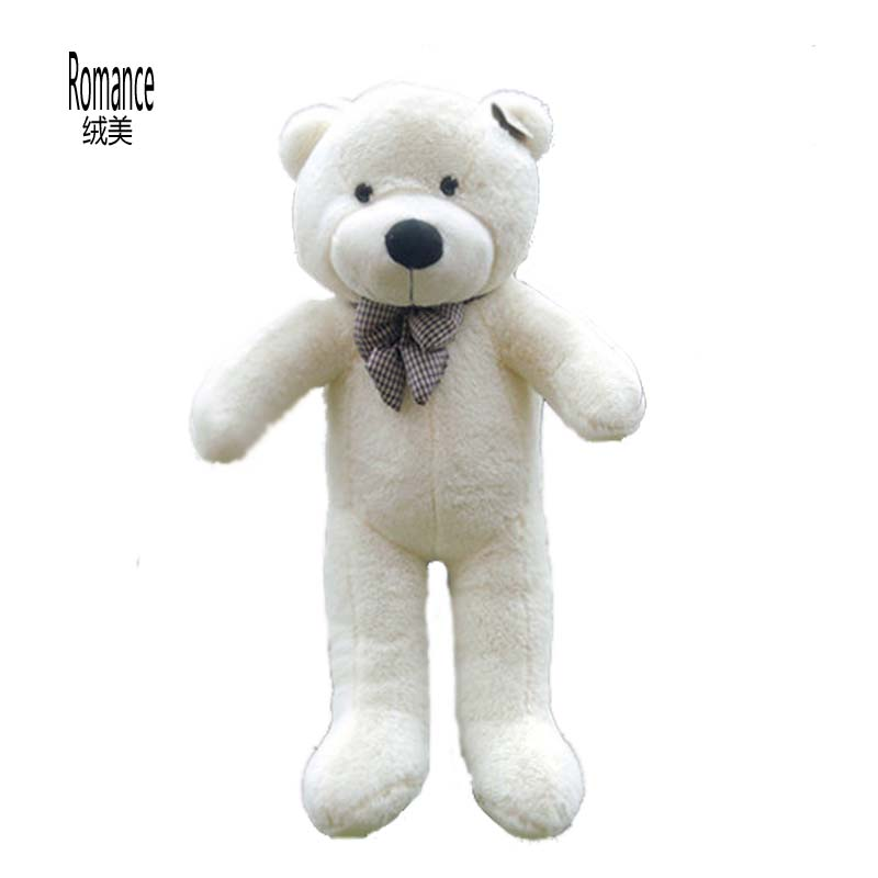 Géant grand grand blanc/brun clair/brun foncé/rose en peluche ours en peluche 100 CM ours en peluche fini poupée en peluche nouveau