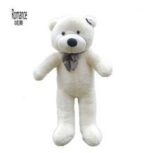xmas gift high quality  teddy bear plush  soft  stuffed toys 3 color to choose freeshipping все цены