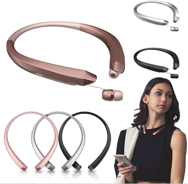 HBS-910 Earphone Neckband Sport Headset With Mic Wireless Headphones Bluetooth Handsfree Stereo OEM For LG Iphone Samsung Xiaomi bh790 stereo v4 1 bluetooth wireless headphones car driver handsfree with mic earphone business headset for iphone android sp029