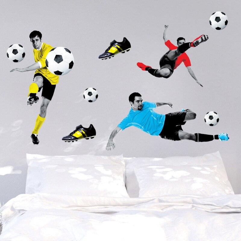 2017 Brand New Sports Football Player Wallpeper 3d Diy