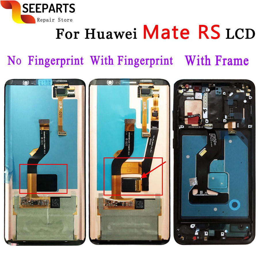 For Porsche DesignFor Huawei Mate RS LCD NEO-AL00 Display Touch Screen Digitizer Panel Assembly For Huawei Mate RS LCD Screen