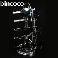 Hot Selling Sailboat Shape Display Stand For Glasses 3d Glass Display Holder Sunglasses Display Frame Acrylic