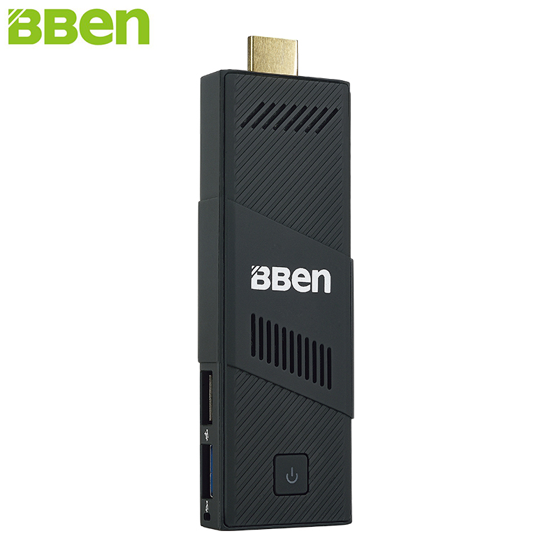 Más caliente bben mini pc de windows 10 intel ubuntu z8350 quad core 2 gb/4 gb h