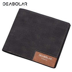 Hot Promotion! Brand 2019 Vintage Man Wallet Male Slim Top Quality Leather Wallets Thin Money Dollar Card Holder Purses for Men