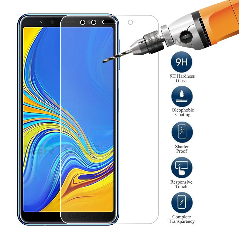 Safety Glass For Samsung A7 2018 SM-A750F Tempered Glass Screen Protector Phone for Galaxy A7 2018 A750 Protective Film A50 A70